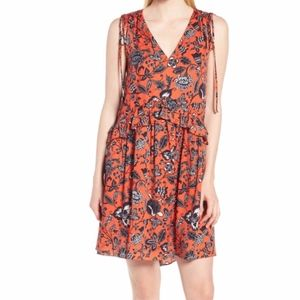 NEW Nordstrom Signature Floral Sleeveless Dress